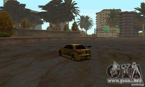 NFS Most Wanted - Paradise para GTA San Andreas novena de pantalla