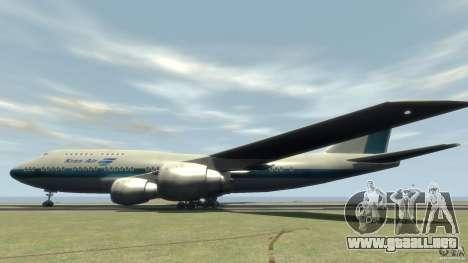 Boening 747-400 Kras Air para GTA 4 left