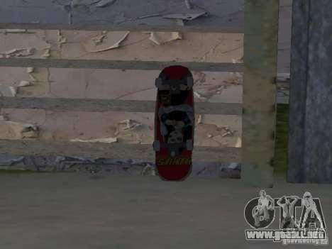 Skate para GTA SA para GTA San Andreas segunda pantalla