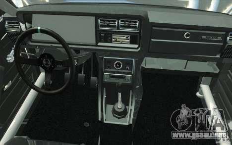 VAZ Lada 2107 Drift para la vista superior GTA San Andreas
