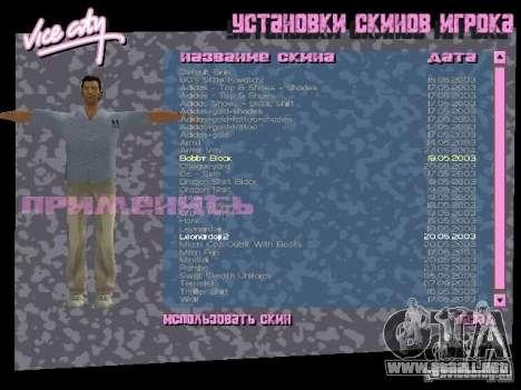 Pack de skins para Tommy para GTA Vice City tercera pantalla