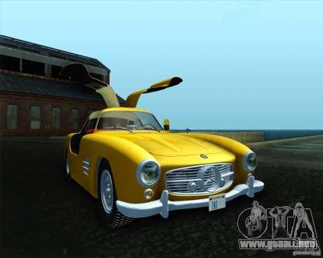 Mercedes Benz 300SL para GTA San Andreas left