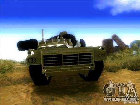 M1A2 Abrams de Battlefield 3 para la visión correcta GTA San Andreas