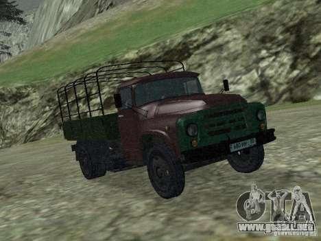 ZIL 130 a bordo para GTA San Andreas left