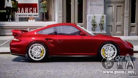 Posrche 911 GT2 para GTA 4 vista lateral