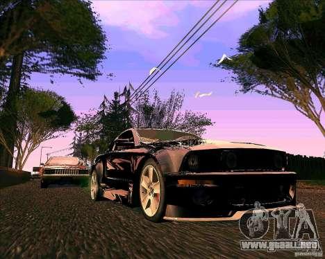 ENBseries V0.45 by 1989h para GTA San Andreas segunda pantalla