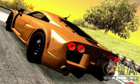 Noble M600 para la visión correcta GTA San Andreas