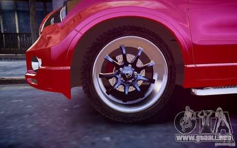 Honda CR-V Light Tuning para GTA 4 vista lateral