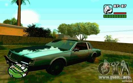 ENBSeries por Blaid para GTA San Andreas segunda pantalla