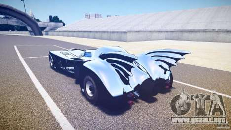 Batmobile v1.0 para GTA 4 visión correcta