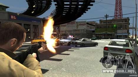 Red Army Mod (Realistic Weapon Mod) para GTA 4 adelante de pantalla