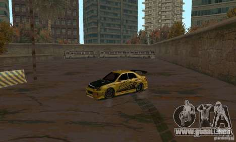 NFS Most Wanted - Paradise para GTA San Andreas twelth pantalla