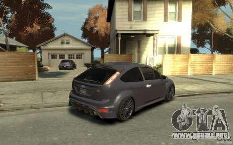 Ford Focus RS 2009 para GTA 4 visión correcta