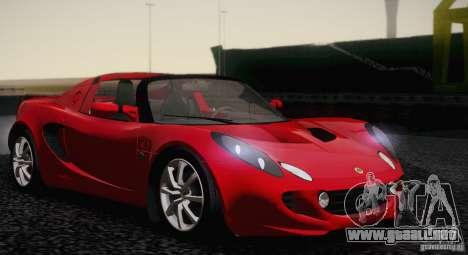 Lotus Elise 111s 2005 v1.0 para GTA San Andreas