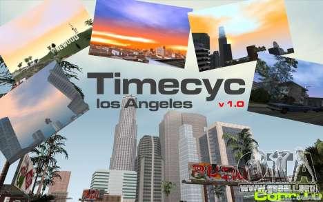 Timecyc Los Angeles para GTA San Andreas