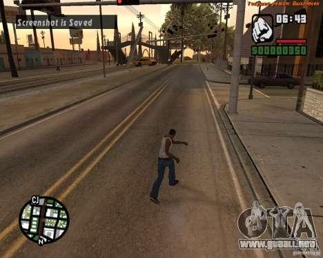 Súper patada para GTA San Andreas
