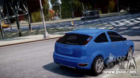Ford Focus ST para GTA 4 vista desde abajo