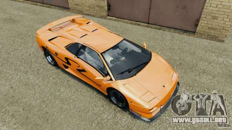 Lamborghini Diablo SV 1997 v4.0 [EPM] para GTA 4 interior