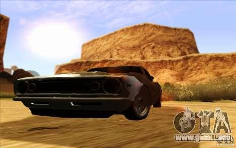 ENBSeries HD para GTA San Andreas sucesivamente de pantalla
