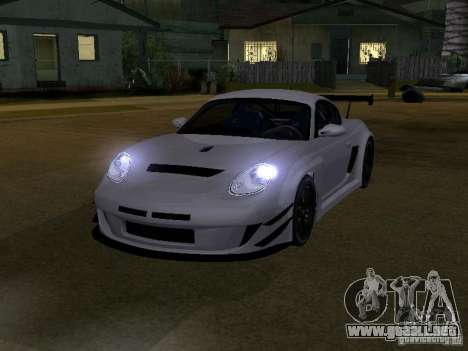 Porsche Cayman S NFS Shift para GTA San Andreas left
