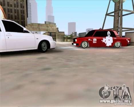 VAZ 2107 Gangsta para GTA San Andreas left
