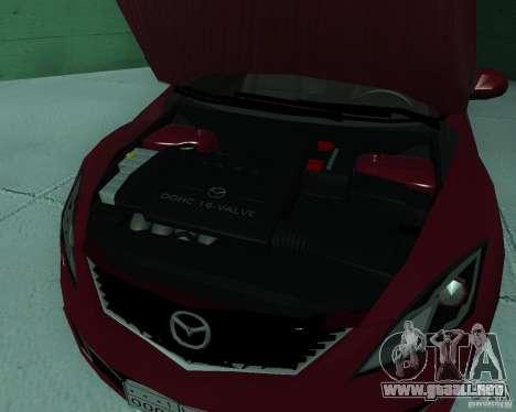Mazda 6 2010 para la visión correcta GTA San Andreas