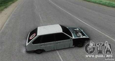 Vaz 2109 Hobo para GTA San Andreas vista posterior izquierda