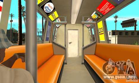 Liberty City Train GTA3 para la visión correcta GTA San Andreas