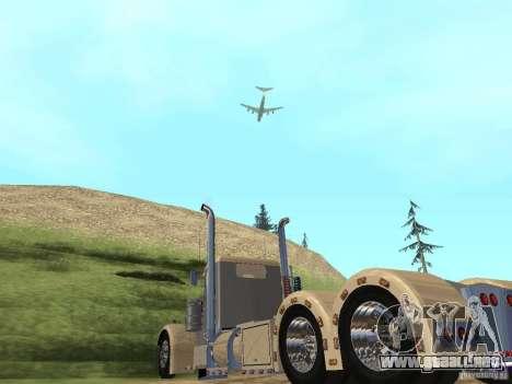 Pimped Peterbilt 381 para la visión correcta GTA San Andreas