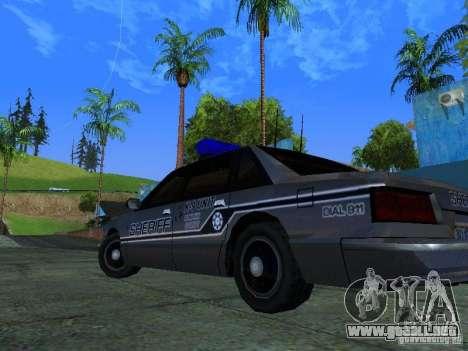 Lumpkin Country Sheriffs Office para visión interna GTA San Andreas