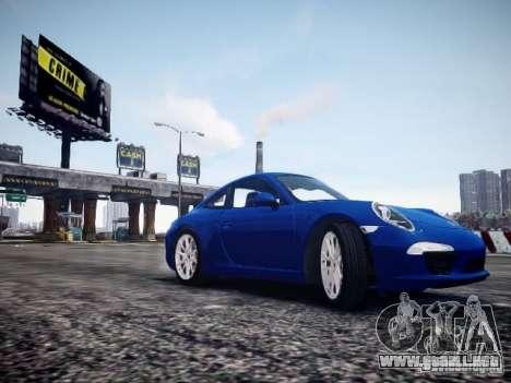 Porsche 911 Carrera S 2012 para GTA 4 visión correcta