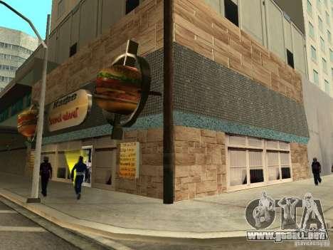 Nuevo Burgershot: ČajničeG oro para GTA San Andreas segunda pantalla