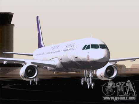 Airbus A321 Air Macau para vista inferior GTA San Andreas