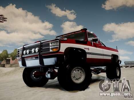 Rancher XL 3.0 para GTA 4 visión correcta