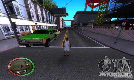 NEW STREET SF MOD para GTA San Andreas tercera pantalla