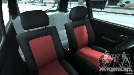 Volkswagen Golf Mk1 Stance para GTA 4 vista interior