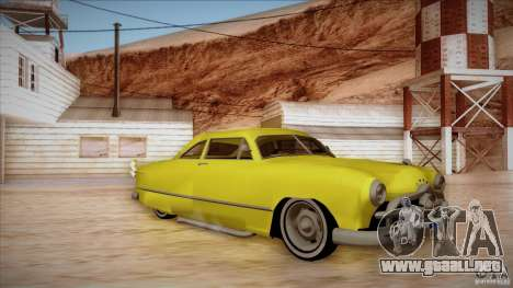 Ford Coupe Custom 1949 para GTA San Andreas left