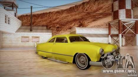 Ford Coupe Custom 1949 para GTA San Andreas left