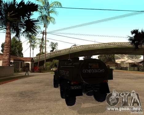 Ural 4320 camión para la visión correcta GTA San Andreas