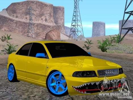 Audi S4 DatShark 2000 para visión interna GTA San Andreas