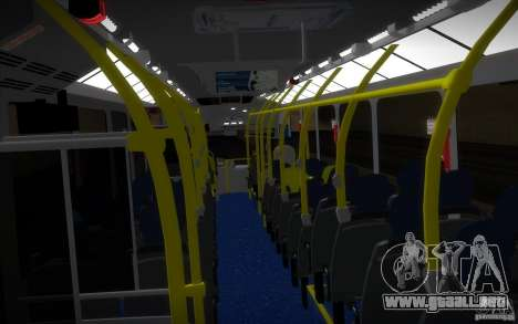 Marcopolo Viale BRT 0500M para visión interna GTA San Andreas