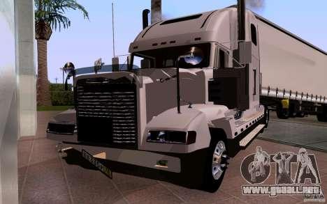 Freightliner SD 120 para vista lateral GTA San Andreas