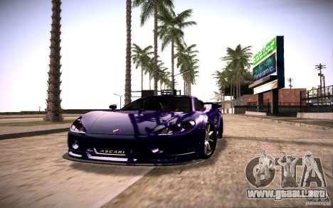 SA Illusion-S V1.0 SAMP Edition para GTA San Andreas segunda pantalla
