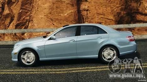 Mercedes-Benz E63 AMG 2010 para GTA 4 left