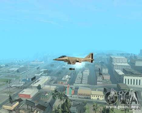 Cluster Bomber para GTA San Andreas