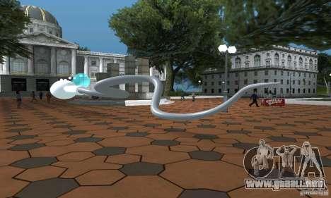 Esperma para GTA San Andreas vista posterior izquierda