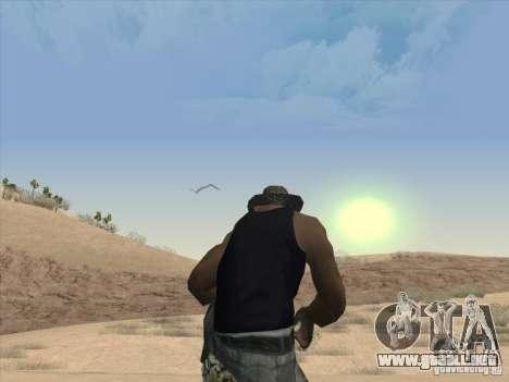 Las nubes hermosas y mucho más para GTA San Andreas tercera pantalla