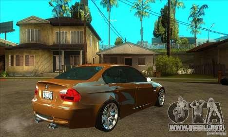 BMW E90 M3 para la visión correcta GTA San Andreas