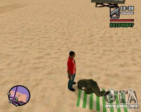 Acción de COD Modern Warfare 2 para GTA San Andreas tercera pantalla