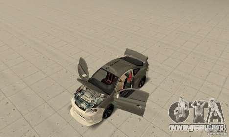Chevrolet Cobalt SS NFS ProStreet para visión interna GTA San Andreas